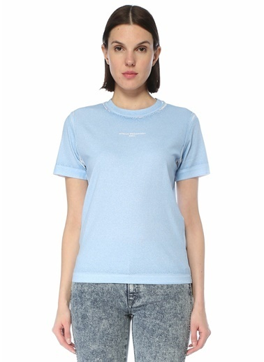 Stella McCartney Polo Yaka T-shirt Mavi